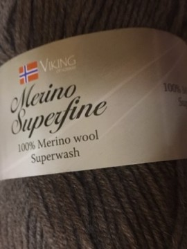 Merino superwash -brun